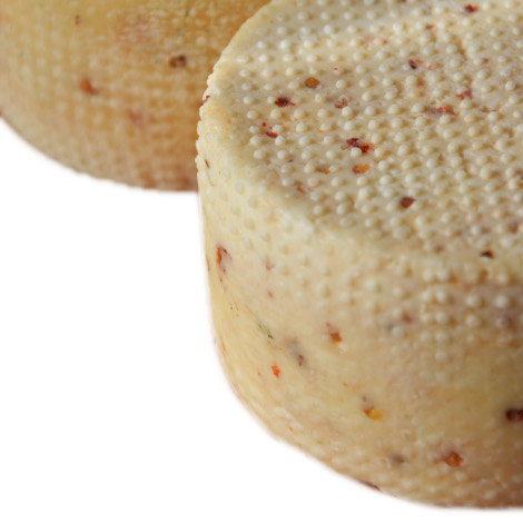 Chilli flavoured pecorino cheese