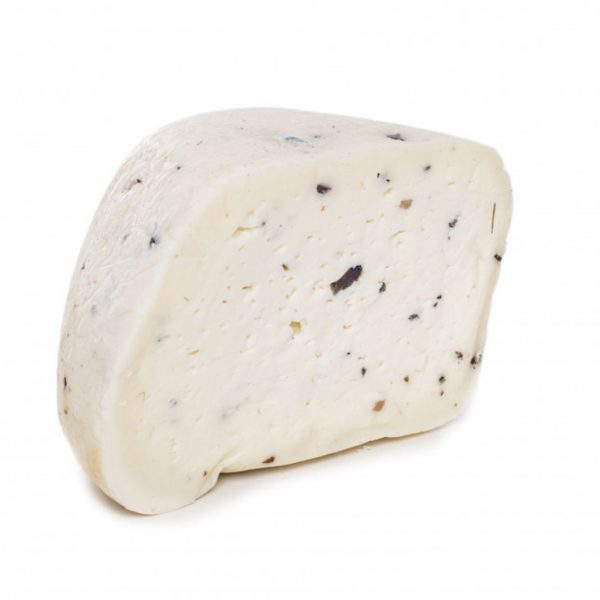 Sweet pecorino cheese with truffle