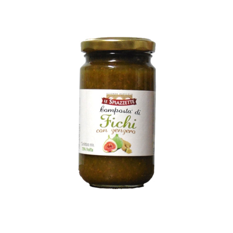 Fig jam with ginger