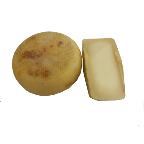 Semi-aged pecorino cheese