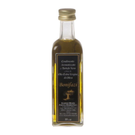 EV olive oil with black truffle