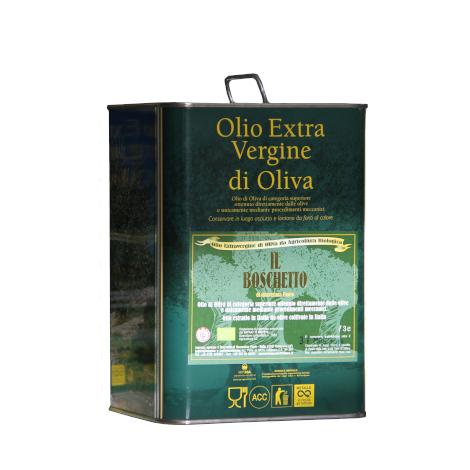 Olio extravergine d'oliva BIO in latta