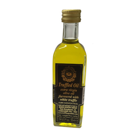 White truffle flavoured EV olive oil