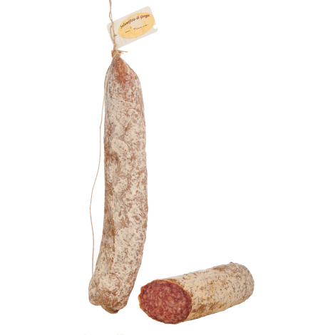 Dry salami from Marche region