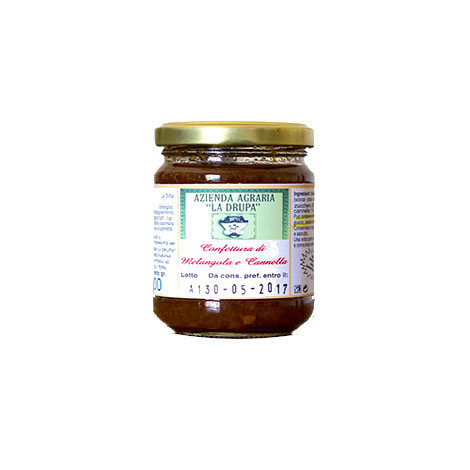 Melangola fruit jam with cinnamon