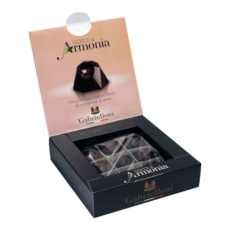 Gocce di armonia - chocolates with olive oil
