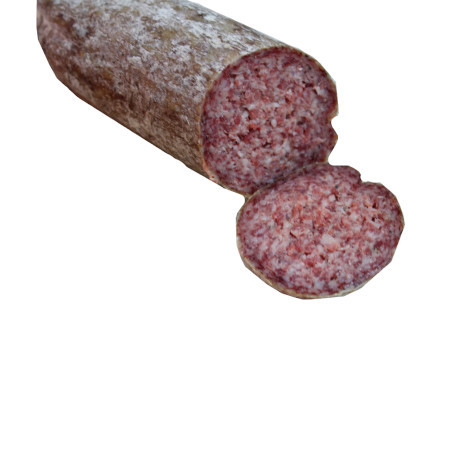 Spreadable salami with liver