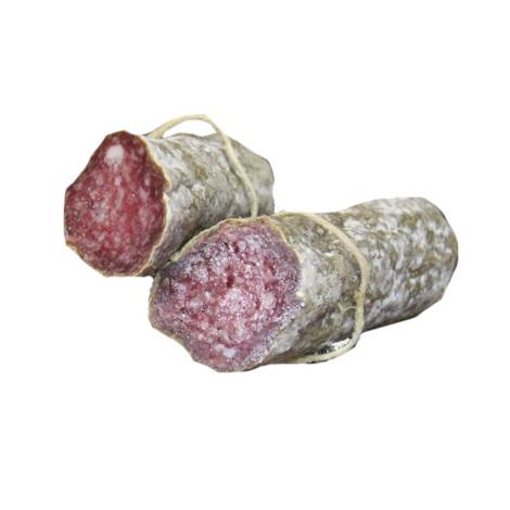 Larded salami