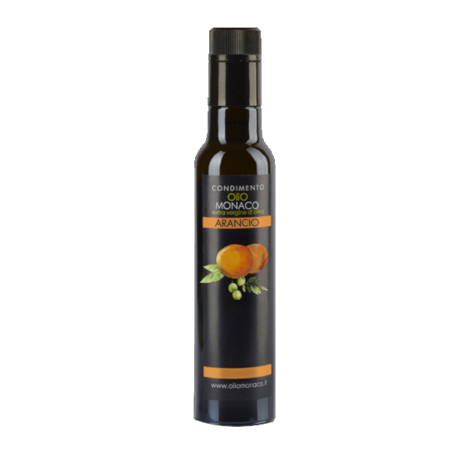 Orange flavoured EV olive oil