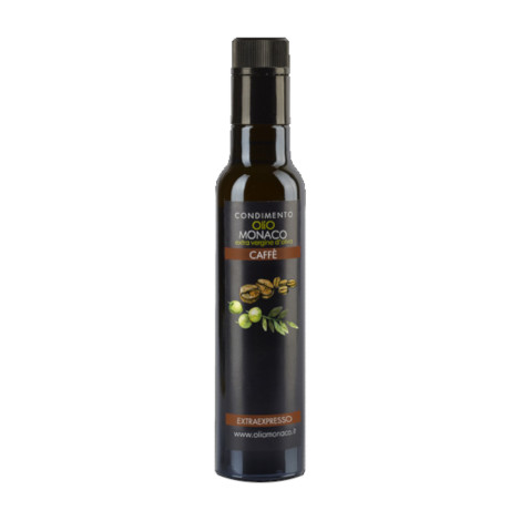 Coffee flavoured EV olive oil