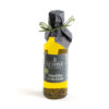 Olive oil with sliced black truffle