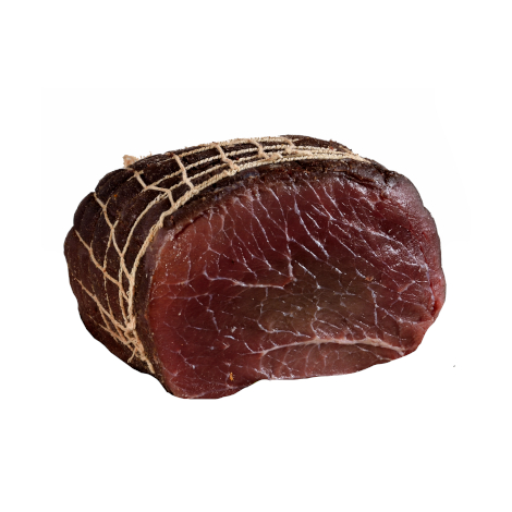 Bresaola cured meat