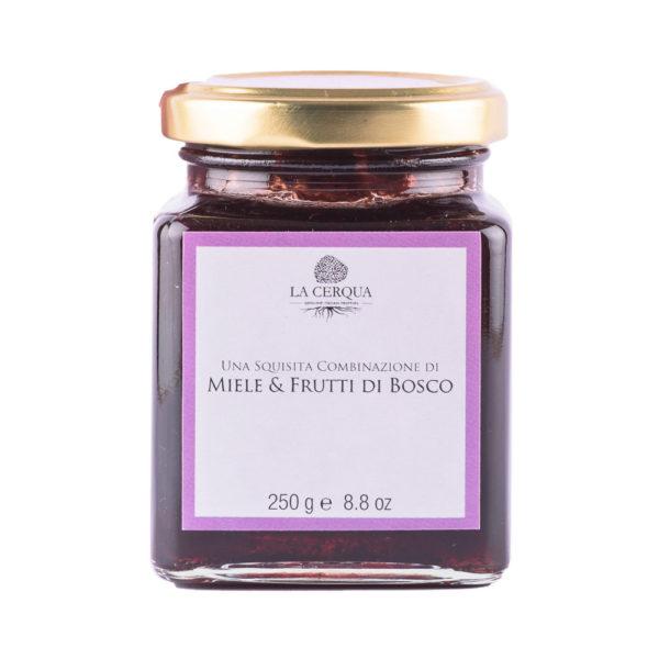 Le Cantine del Cardinale La Cerqua Miele & Frutti di bosco - 250 gr