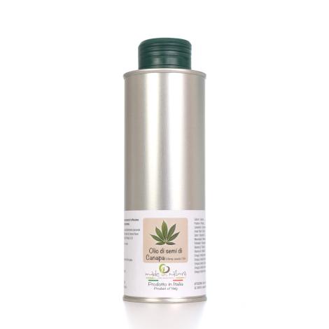 Organic Italian hemp seed oil