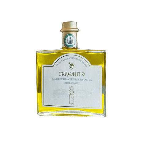 Margarito EV olive oil in flask