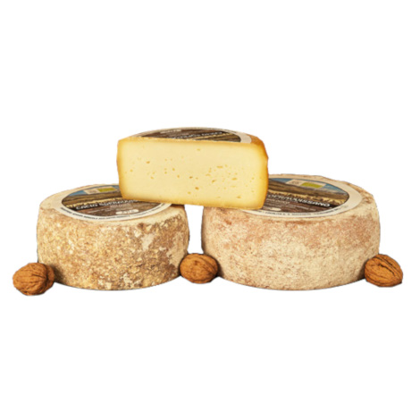 Cheese aged in a cave