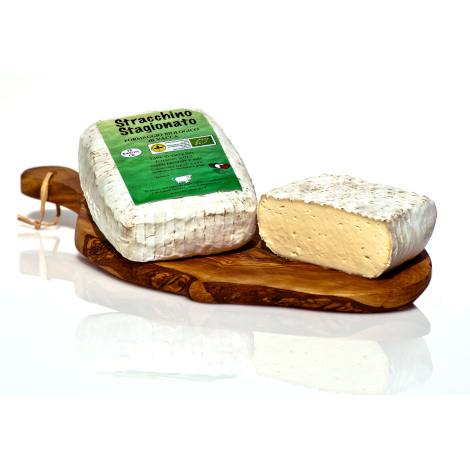 Aged Stracchino cheese