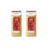 Bronze wheat thick spaghetti pasta - two 500-gram packs