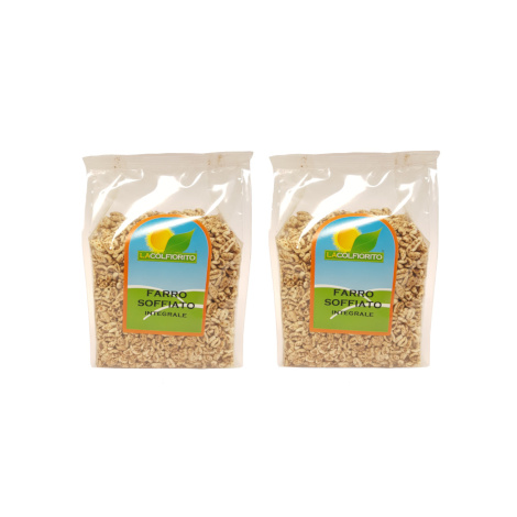 Wholemeal puffed spelt, two 125 gr packs