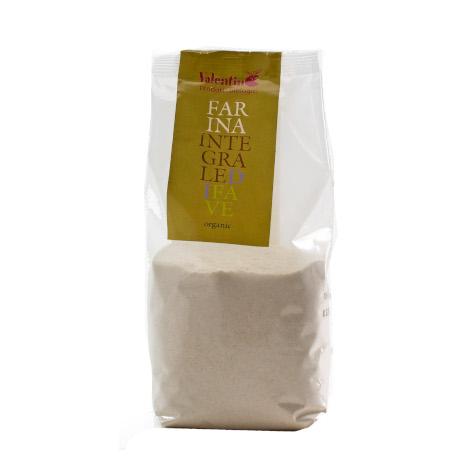 Farina integrale di fave