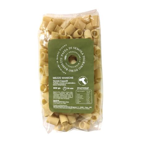 Mezze maniche semola di grano duro Bassetti – Cappelli