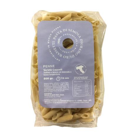 Penne semola di grano duro Bassetti - Cappelli