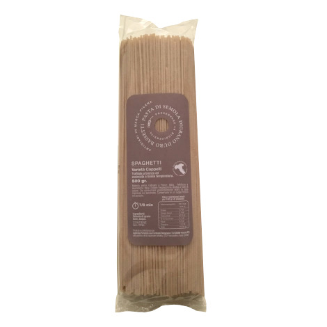 Spaghetti semola di grano duro Bassetti - Cappelli
