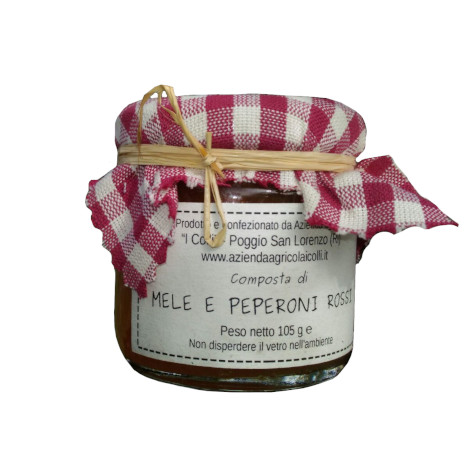 apple and red pepper preserve