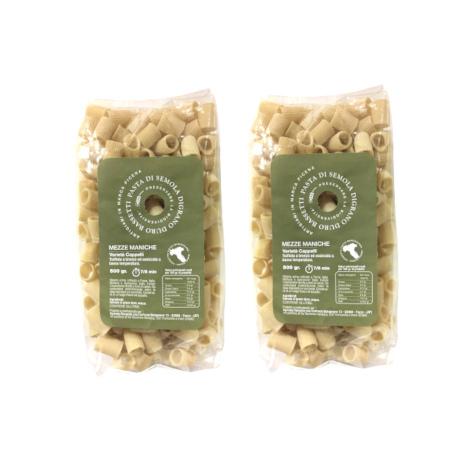 Mezze Maniche varietà Cappelli – 2 pacchi da 500 gr