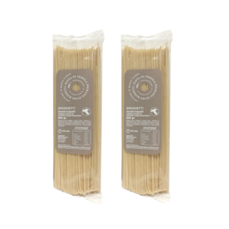 Spaghetti varietà Cappelli – 2 pacchi da 500 gr