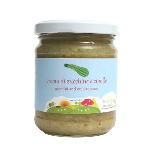 Crema di zucchine e cipolla