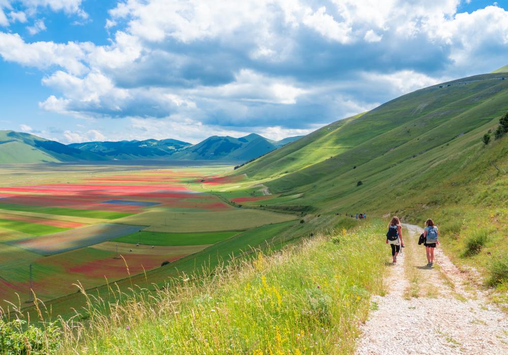 Una passeggiata a Castelluccio di Norcia alla scoperta dei prodotti tipici umbri