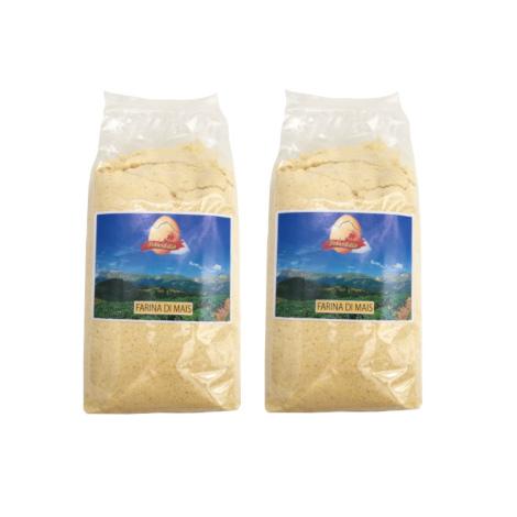 Farina di mais – [2 x 500 g] – Patasibilla