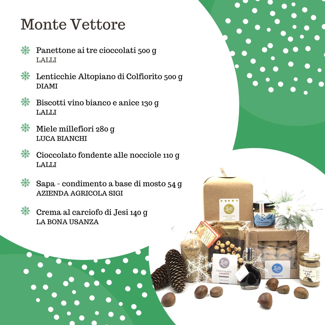 Acquista il Pacco Natale Monte Vettore