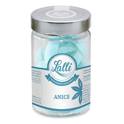 Cuoricini – Zollette di zucchero Anice 80 g – Lalli Zucchero
