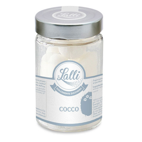 Cuoricini – Zollette di zucchero al Cocco 80 g – Lalli Zucchero