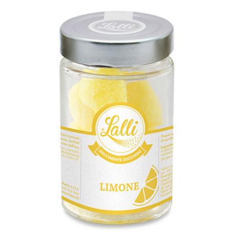 Cuoricini – Zollette di zucchero Limone 80 g – Lalli Zucchero